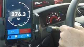 Civic Si 2015 Supercharger Rotrex + KTuner. Apresentação e Teste. 276km/h GPS