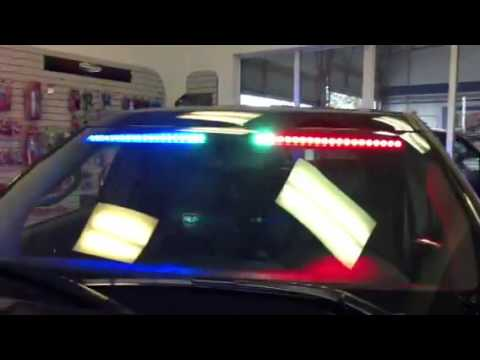 HG2 Emergency Lighting Front Visor Interior Light Bar With Take Downs 201