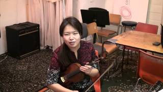 Sharon Lee, Violin for the TDSB/Continuum education project