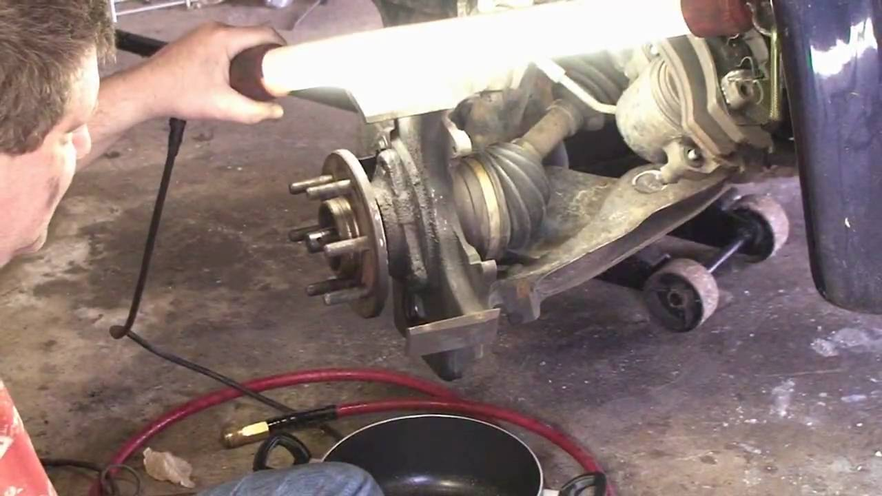 2002 dodge dakota front suspension and drivetrain service part 1 youtube [ 1280 x 720 Pixel ]