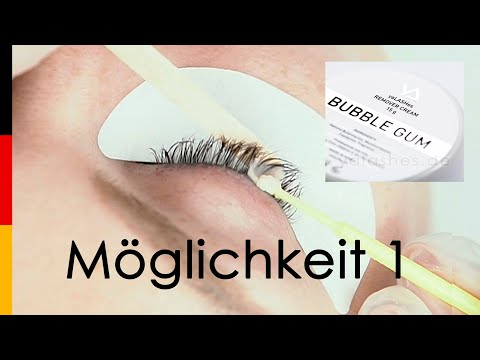Remover Cream yaLASHes Bubble Gum 15g video