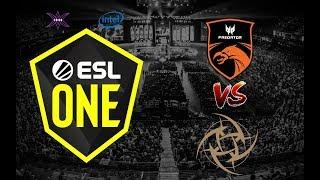 TNC Predator vs Ninjas in Pyjamas (NiP)   ESL One Hamburg 2019   Game 2 (Bo2)   Dota 2 Pro Circuit