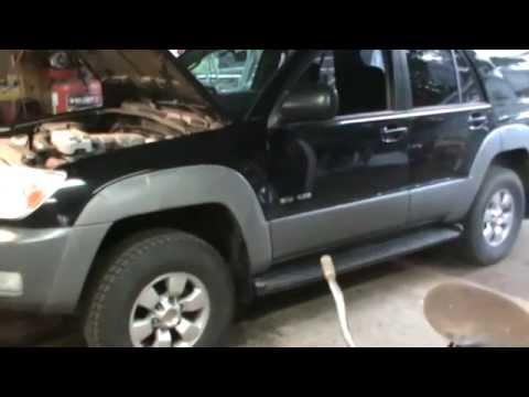 4th gen toyota 4runner front spacer lift install - YouTube