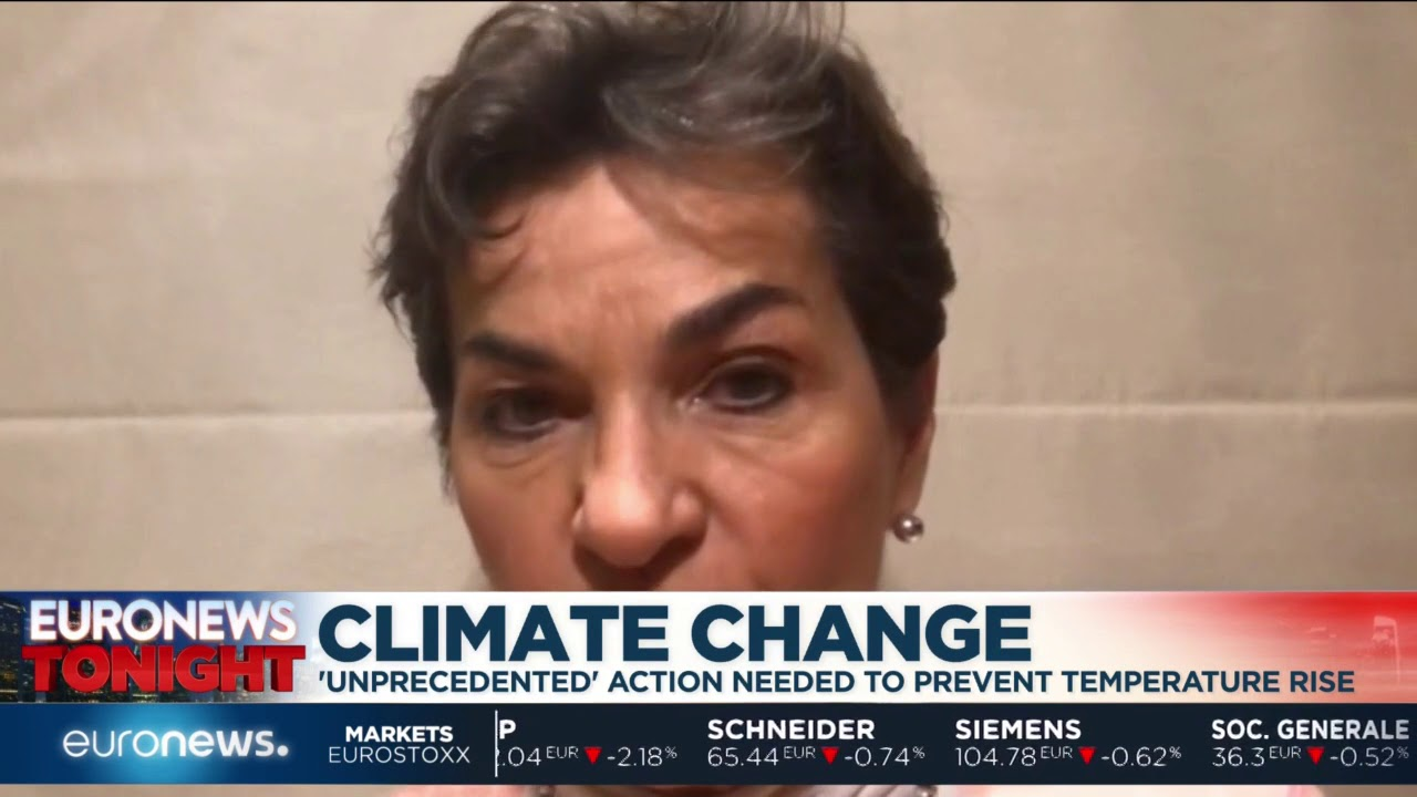 Euronews Tonight: Former United Nations executive secretary talks of the IPCC climate change report