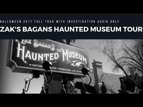 Zak Bagans allowed audio recording in Haunted Museum (Full Tour on Audio Only Part 1)