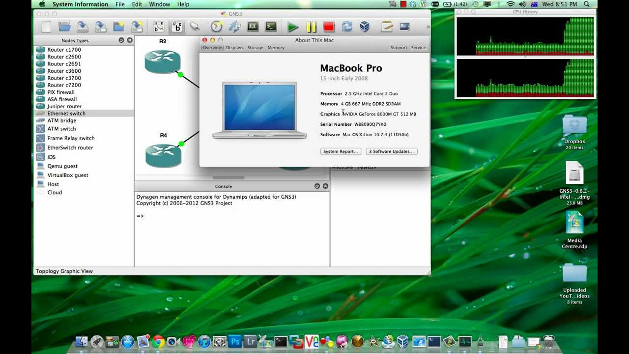 GNS3 Tutorial - Installing GNS3 on Mac OS X with Configuration and Tweaking