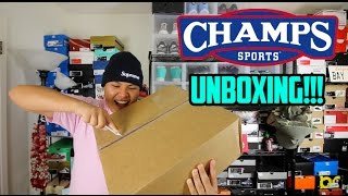 EP. 4 - MYSTERY UNBOXING FROM CHAMPS SPORTS!!! #LATEUPLOAD
