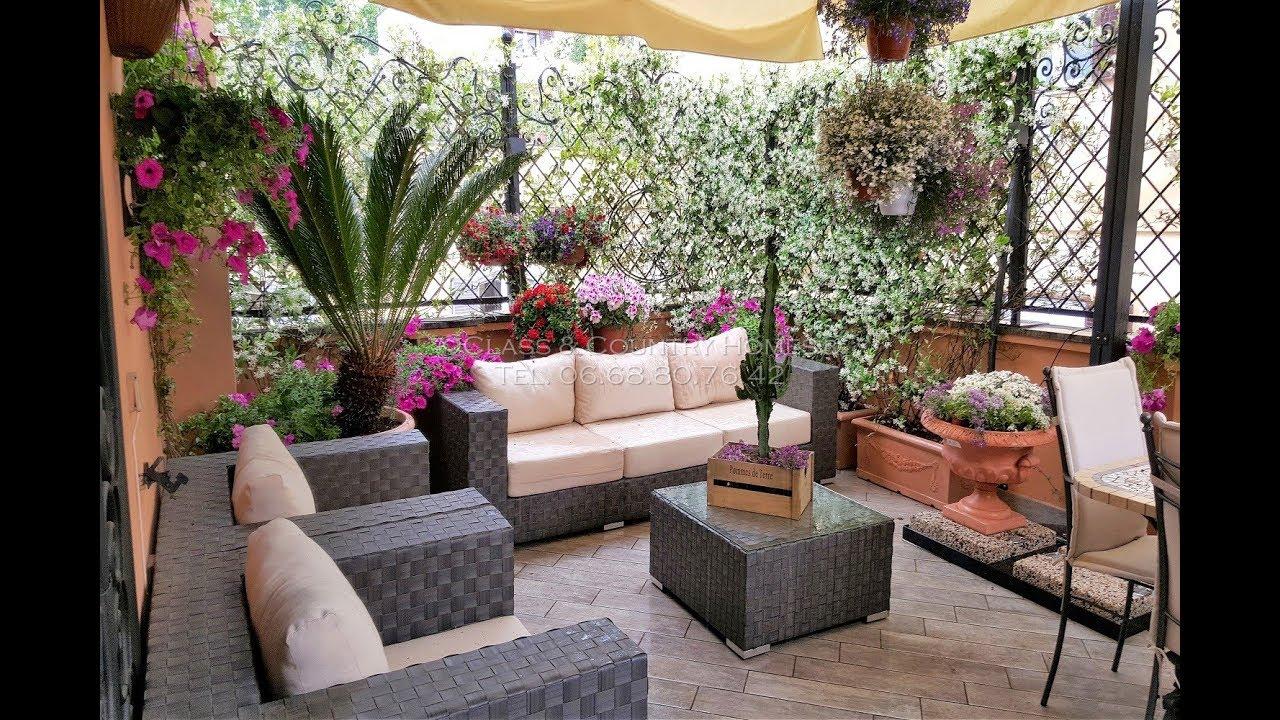 Case Con Terrazzo Roma roma | prati - appartamento con terrazzo in vendita - youtube