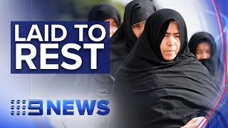 Jacinda Ardern visits Christchurch as first victims are laid to rest | Nine News Australia