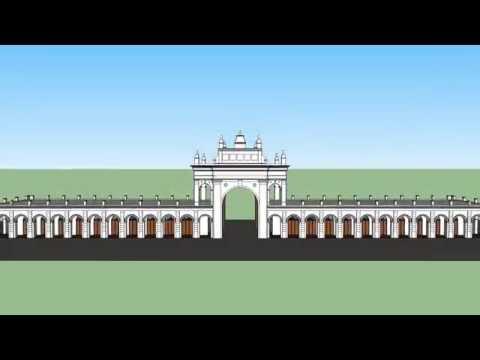Antigua Recova de Buenos Aires 3D