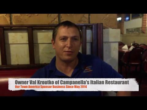 Our Town America Testimonial  Campanella's Restaurant