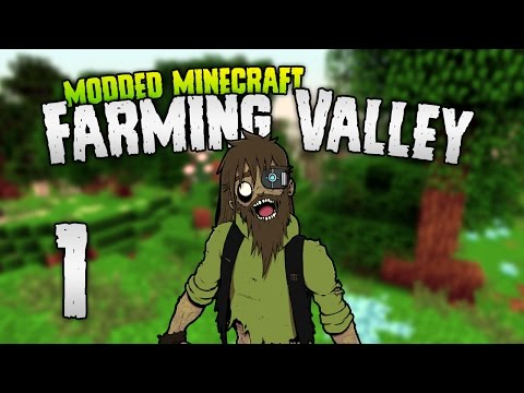 Minecraft: FARMING VALLEY | 1 | HARVEST MOON-CRAFT? [Minecraft Modpack 1.10.2]