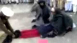Torturing Man & Woman in public Do you want Islam Pathan Taliban style ?