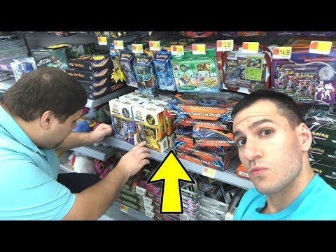 SEARCHING FOR RARE POKEMON CARDS AT WALMART! Special Guest!