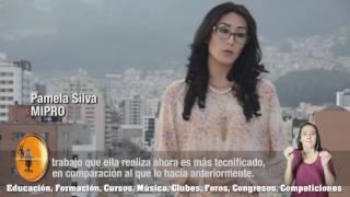 ECUAVOLEY RADIO, EMPRENDEDORA, VERÓNICA SISALEMA