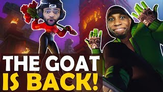 THE GOAT IS BACK! SWEATY CARRY ft. OpscT |  HIGH KILL FUNNY GAME