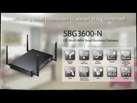 ZyXEL Small Business Gateways - YouTube