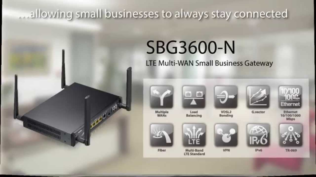 ZyXEL Small Business Gateways