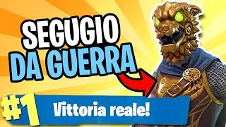 REAL VITTORY with WEEK SEGUGIO on FORTNITE (Legendary Skin)
