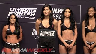 The Ultimate Fighter 27 Finale Weigh-Ins  (TUF 27 Finale, FULL)