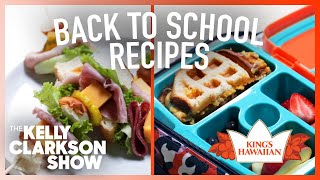 Back To School Sandwich Recipes: Lunch Kebabs + Waffled Grilled Cheese