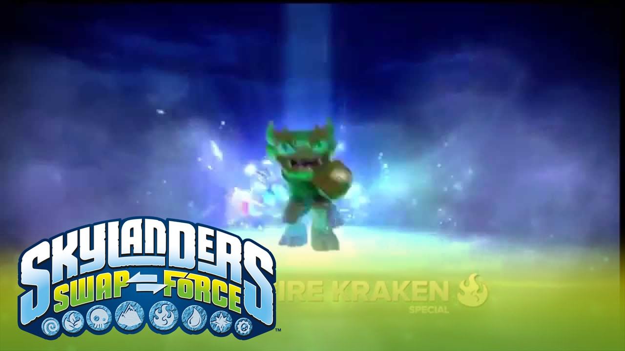 Meet the Skylanders: Jade Fire Kraken l SWAP Force l