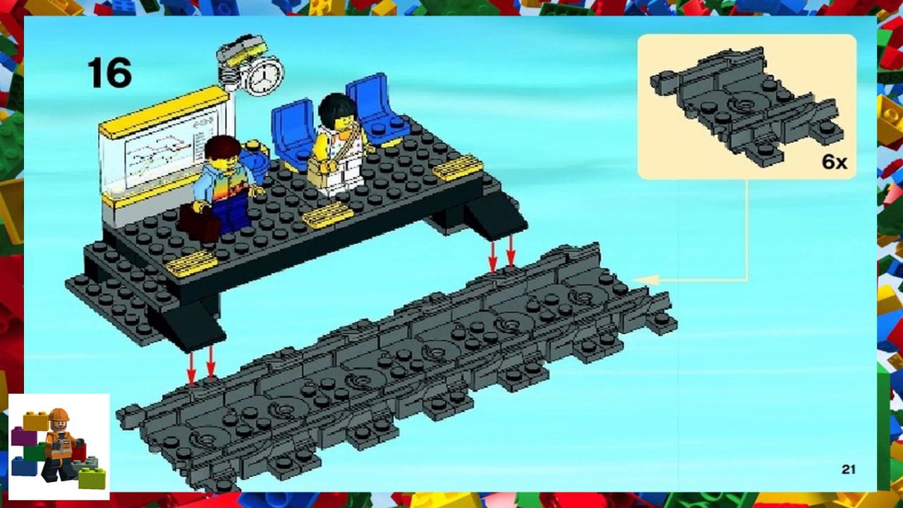 Lego Instructions City Trains 7938 Passenger Train Book 1