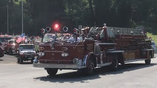 Old & Antique Apparatus Lights & Sirens Parade 43rd Annual PA Pump Primers Muster
