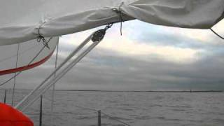 Mirage 28 Winter Sailing Video 4