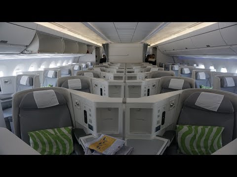 Finnair A350 XWB Helsinki to Shanghai in Business Class