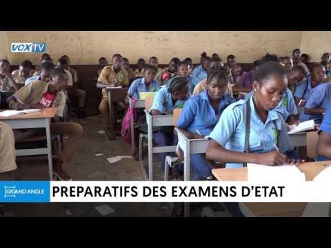 Préparatifs aux examens d'état  2017 au Congo