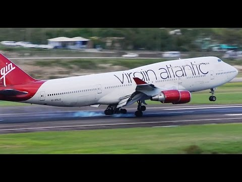 Virgin Atlantic Full Flight Gatwick to Antigua