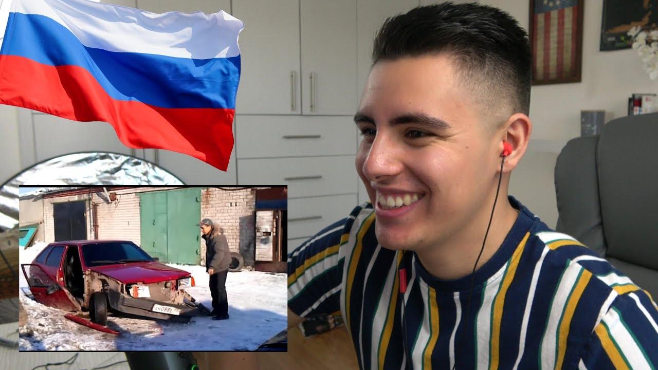 Реакция АМЕРИКАНЦА на СМЕШНЫЕ ВИДЕО из России 2