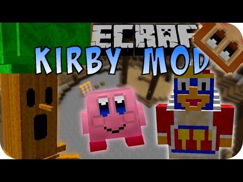 Minecraft KIRBY MOD (Dedede, Whispy, Kirby) [Deutsch]