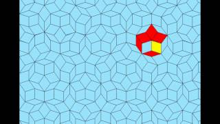 3 states gliders on Penrose tiling