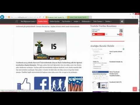 Facebook için Eposta Adresi Nasıl Alınır