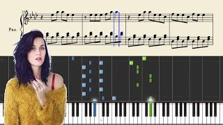 Download Katy Perry - Firework - Piano Tutorial + Sheets MP3 song and Music Video
