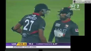 Pak vs UAE Full T20 Match 29 Feb, 2016 6th T20 match Asia Cup Part 2