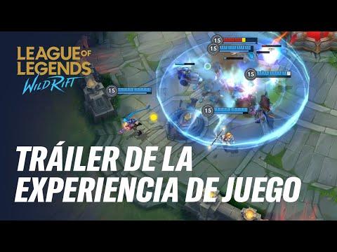 Tráiler oficial de la experiencia de juego | League of Legends: Wild Rift