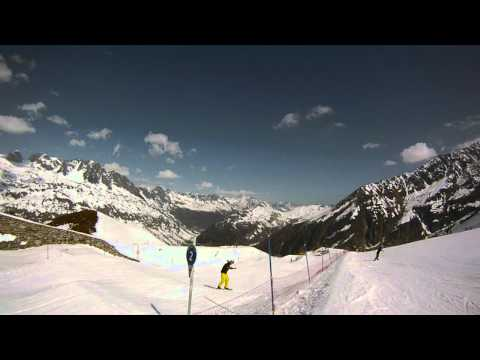 Snowboarding Chamonix 2012 part 1