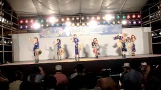 安城七夕まつり ご当地アイドル・キャラクター フェスティバルで披露さ...