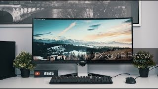 "BenQ EX3501R: 35"" ULTRAWIDE UNDERDOG 