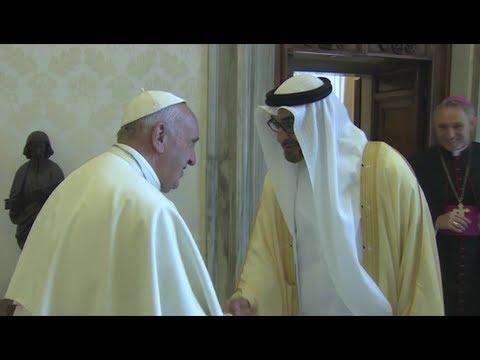 Pope to visit United Arab Emirates Feb. 3-5