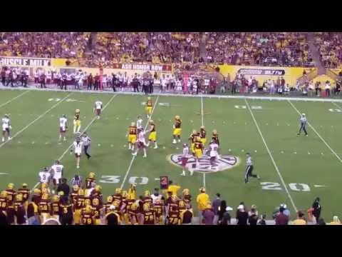 Arizona State Football vs Washington State Football 2016