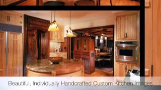 Custom Kitchen Cabinetry Designs Styles And Custom Woodworking Imagery