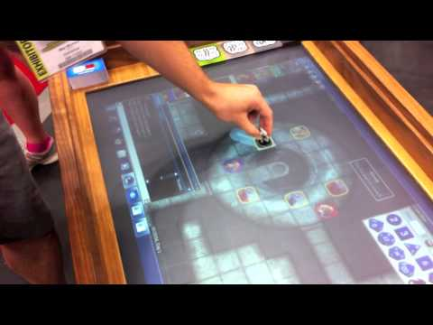 GenCon Electronic Gaming Table YouTube - Digital board game table