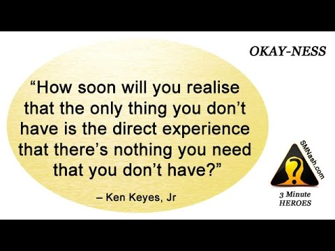 3 Minute Heroes (18) - Okay-ness   Being Okay!