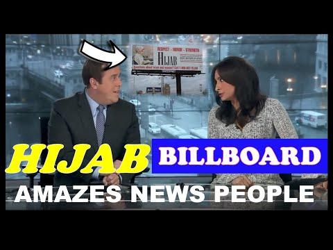 News Channel saw the Hijab billboard and said this...