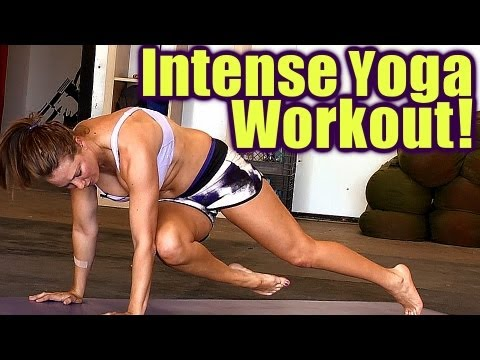 Full Body Yoga Workout: Intense Weight Loss & Strength Training for Beginners & Athletes