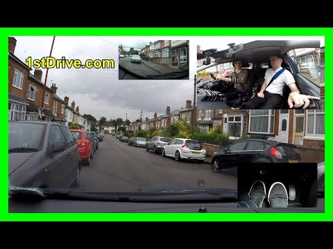 How to parallel park -  Lucy's driving lessons episode 16